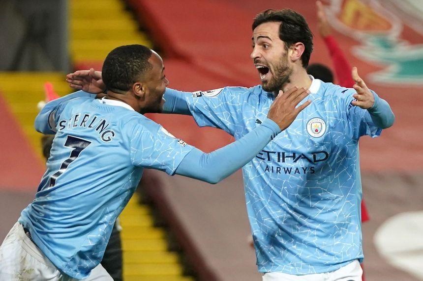 Sterling, Silva, Man City