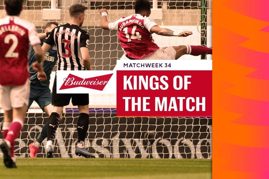 Budweiser Kings of the Match, Matchweek 34