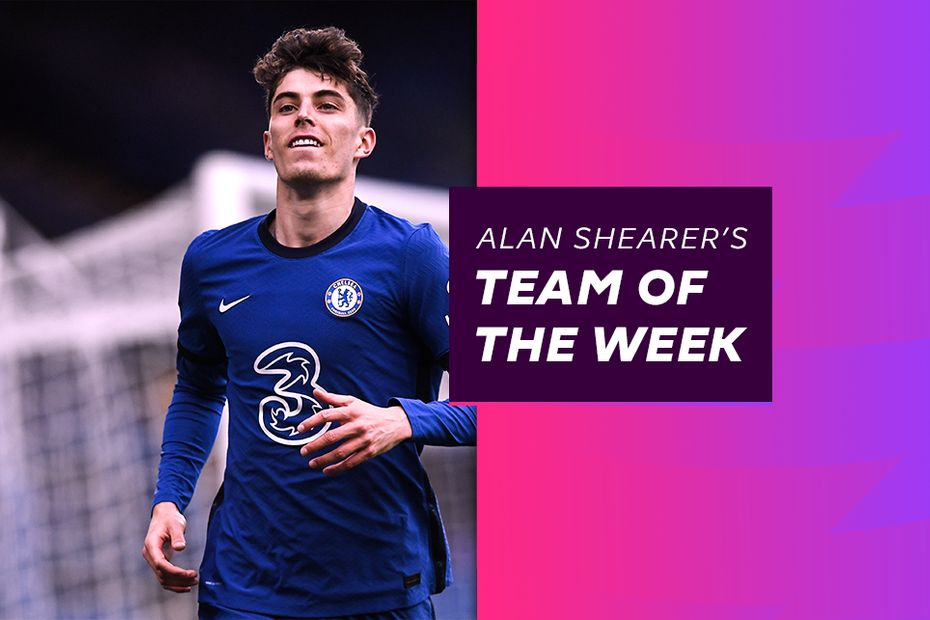 Kai Havertz, Shearer's Team of the Week