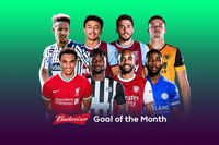 Watch April 2021's Budweiser Goal of the Month contenders