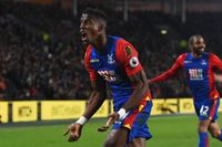 Goal of the day: Zaha's acrobatic volley
