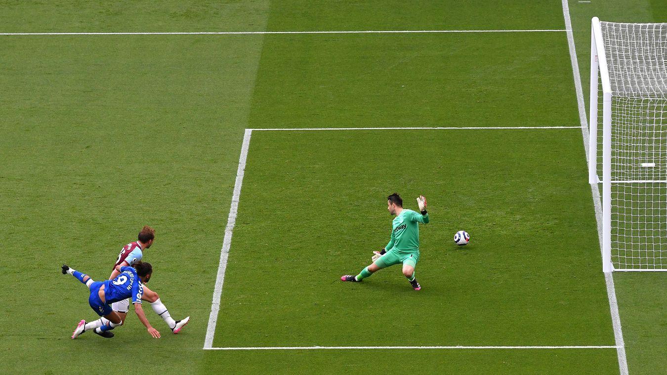 West Ham United 0-1 Everton