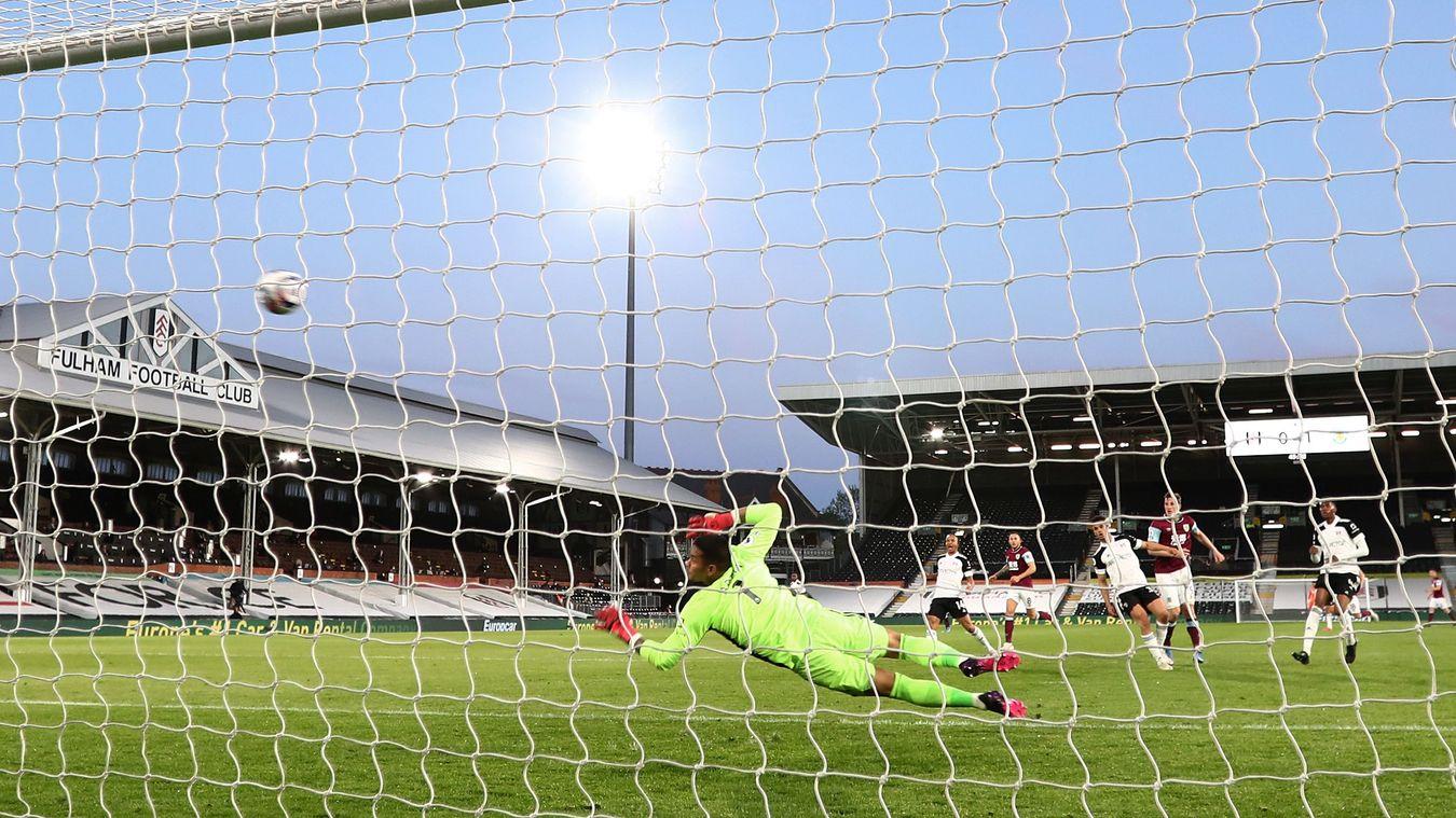 Fulham 0-2 Burnley