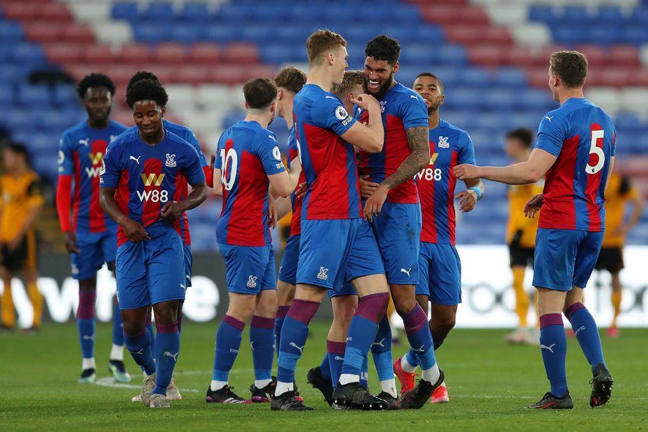Crystal Palace U23s celebrate