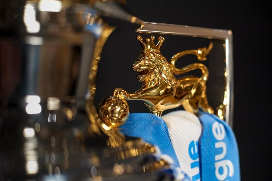 Man City trophy colour