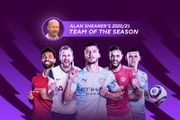 Alan Shearer's 2020/21 Team of the Season
