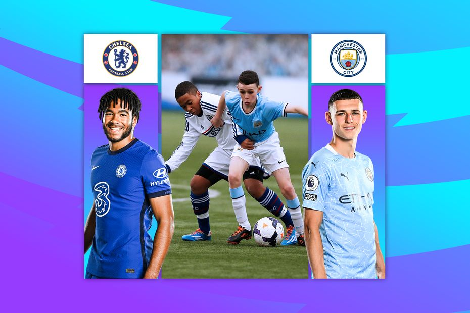 Reece James and Phil Foden