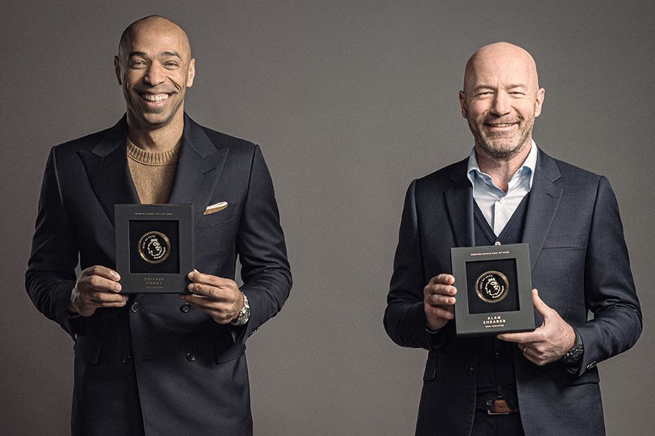Hall of Fame Thierry Henry Alan Shearer v1