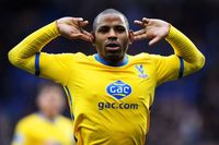 Goal of the day: Puncheon curls in for Palace