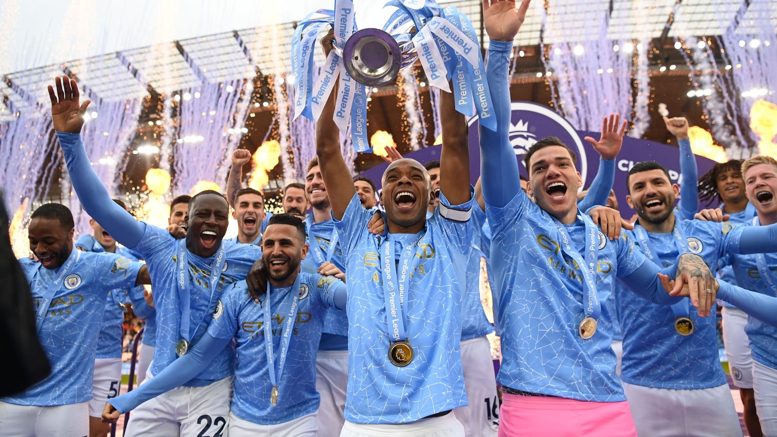 """""""The 2020/21 Premier League season was unpredictable and competitive as the COVID-19 pandemic posed considerable challenges. Despite everything, all our clubs produced an entertaining and action-packed campaign."""""""