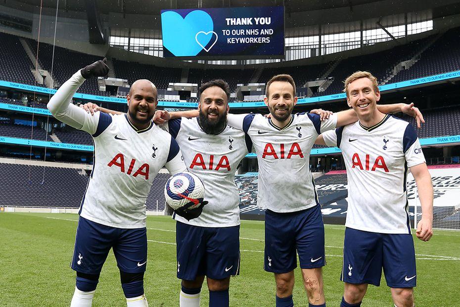 TIPL Tottenham Hotspur Stadium NHS match