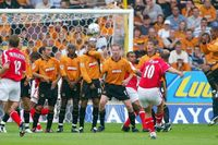 Goal of the day: Jensen's free-kick at Wolves