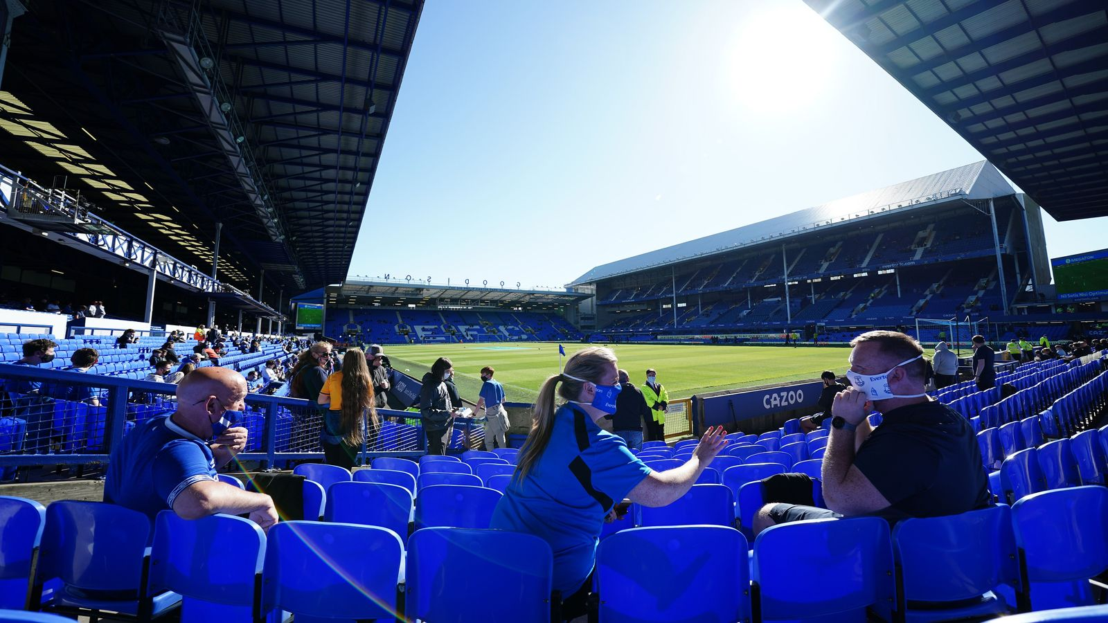 """""""It has been a year like no other and a season lost to fans. A season in which the joy and camaraderie of matchday has been replaced by silence and empty seats. The three games in the season where we were able to welcome a limited number of supporters into Goodison Park were very special – and somewhat emotional. Like all Evertonians, I am counting down the days for the return of fans in substantial numbers."""