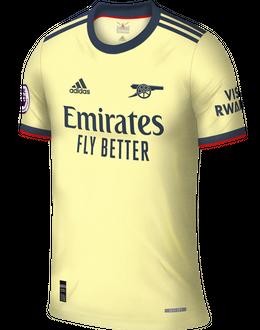 Arsenal third shirt, 2021/22