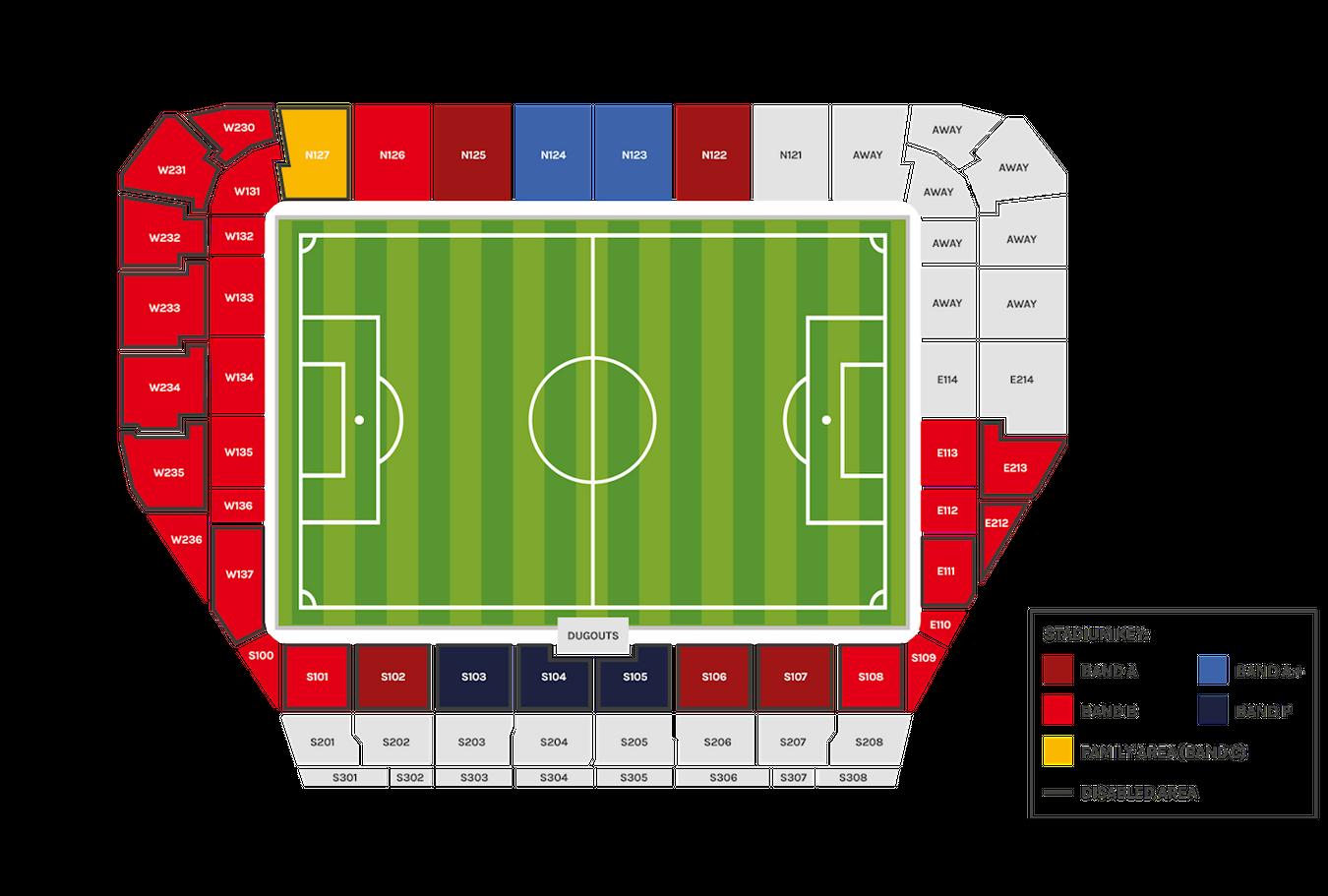 Brentford Stadium Map