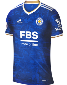 Leicester home shirt, 2021/22