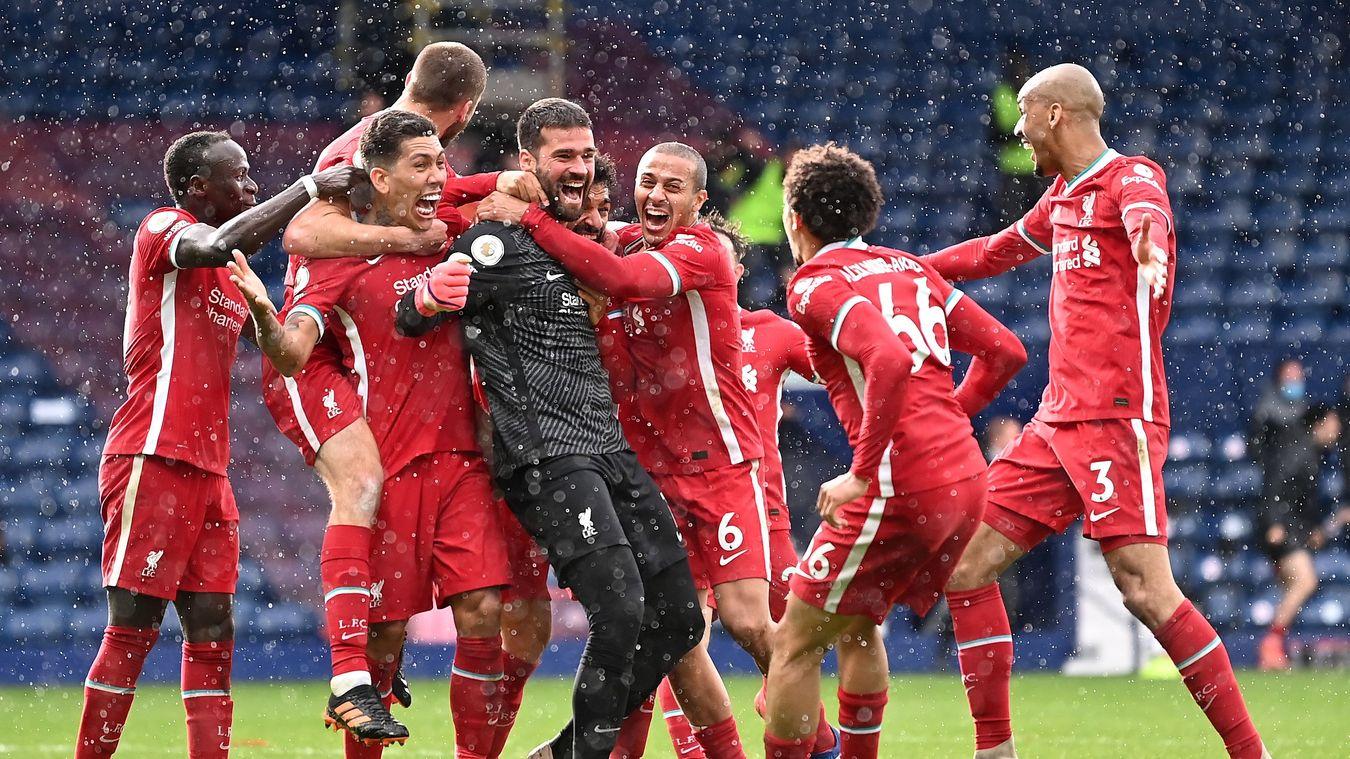 Alisson, Liverpool Celebration in 2020/21
