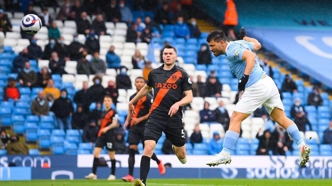Sergio Agüero, Manchester City goal in 2020/21