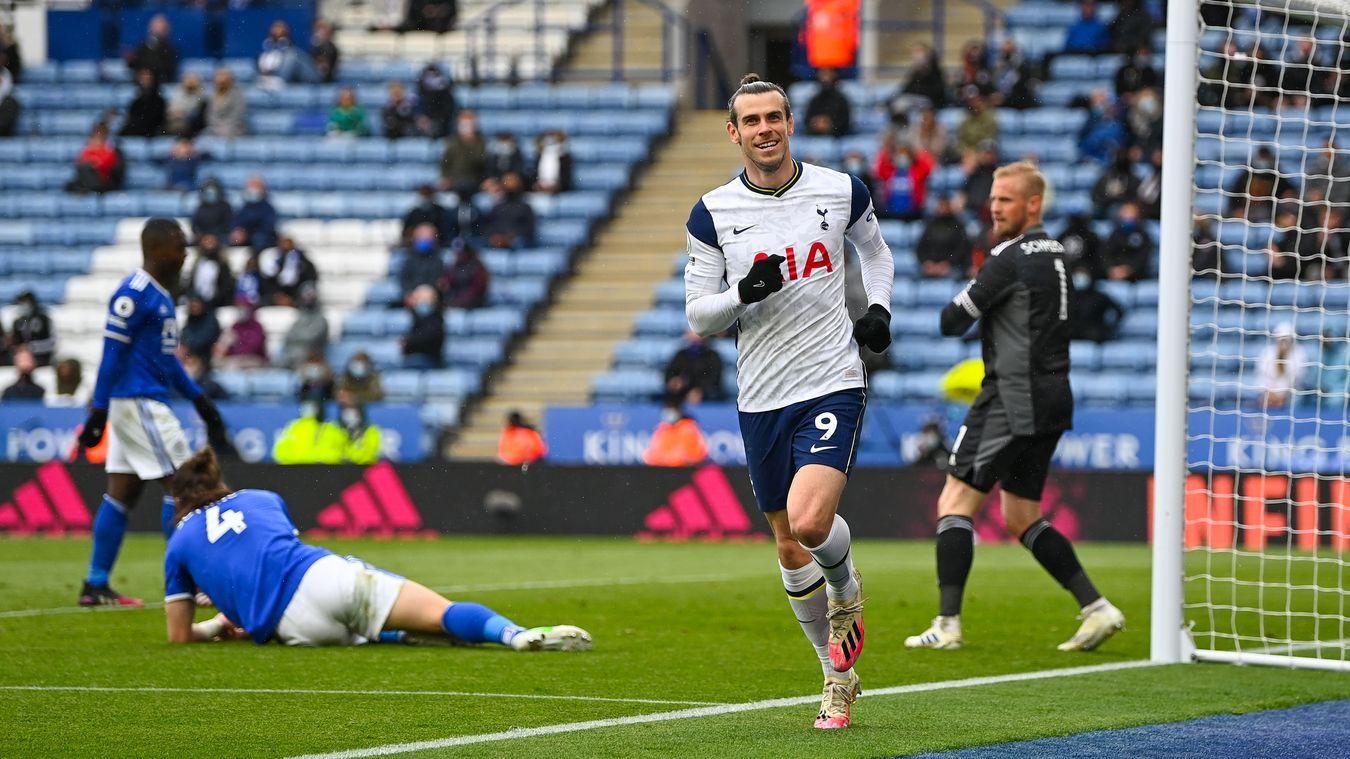Gareth Bale, Tottenham Hotspurs celebration 2020/21