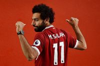 Watch centurion Salah's best moments for Liverpool