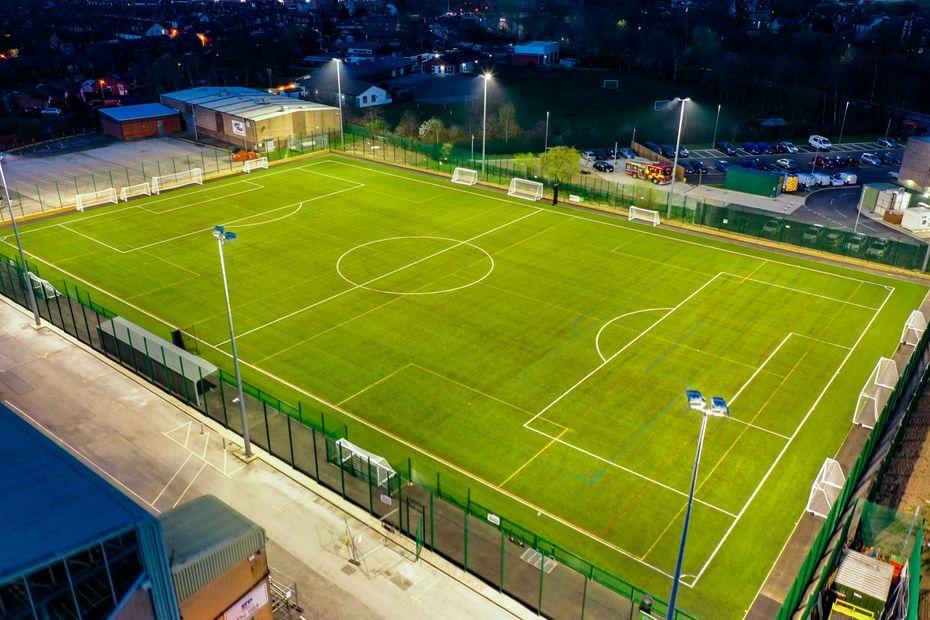 Football Foundation facility for defibs