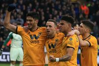 Goal of the day: Jota rounds off slick Wolves move