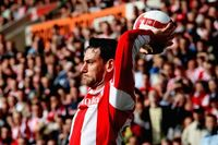 Watch best of Delap's long throws on his birthday