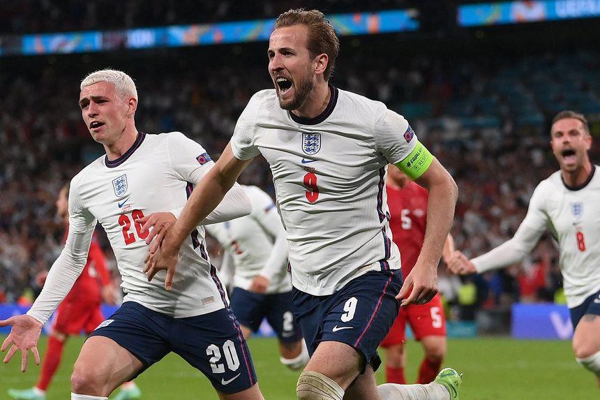 Kane goal v DEN 2