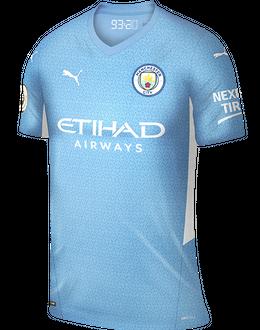 Man City home shirt, 2021/22