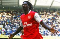 Goal of the day: Adebayor's stunning volley at Spurs