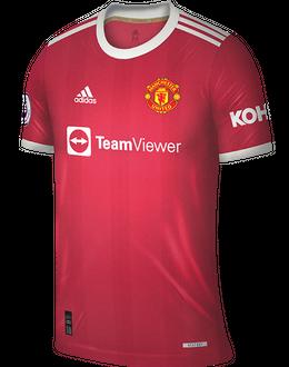 Man Utd home shirt, 2021/22