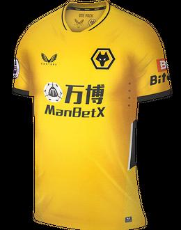 Wolves home shirt, 2021/22