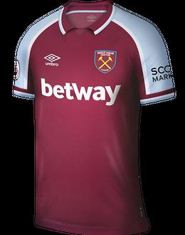 West Ham home shirt, 2021/22