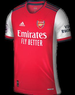 Arsenal home shirt, 2021/22