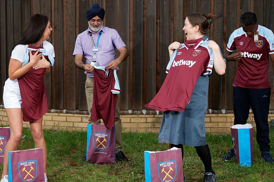 West Ham Kit Launch