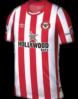 Brentford home shirt, 2021/22