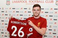 On this day - 21 July 2017: Robertson signs for Liverpool