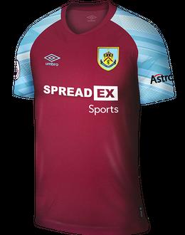Burnley home shirt, 2021/22