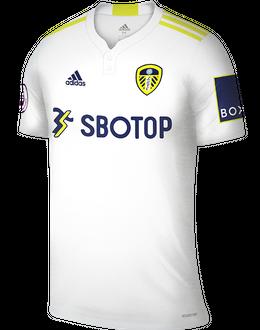 Leeds home shirt, 2021/22