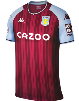 Aston Villa home shirt, 2021/22