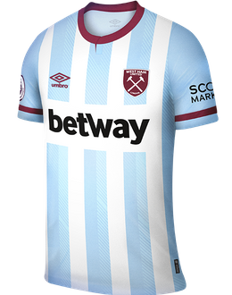 West Ham away shirt, 2021/22