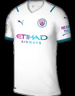 Man City away shirt, 2021/22