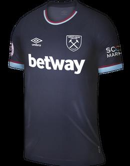 West Ham third shirt, 2021/22