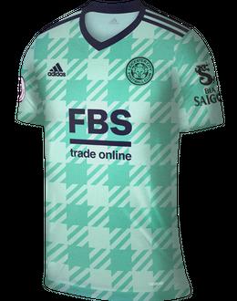 Leicester away shirt, 2021/22