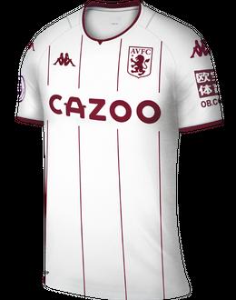 Aston Villa away shirt, 2021/22