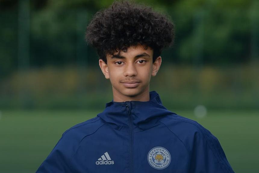 Leicester's PL Kicks participant Angel