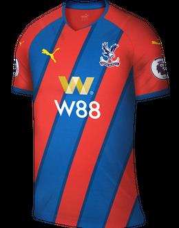 Crystal Palace home shirt, 2021/22