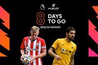 Countdown to 2021/22 season: 8 days to go