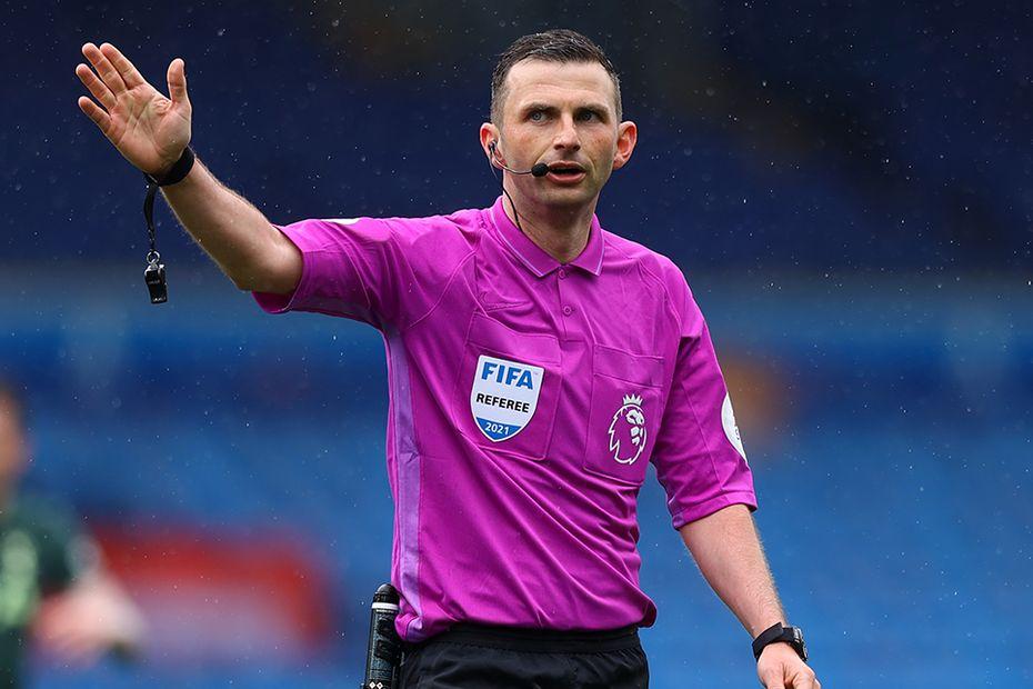 Michael Oliver, referee