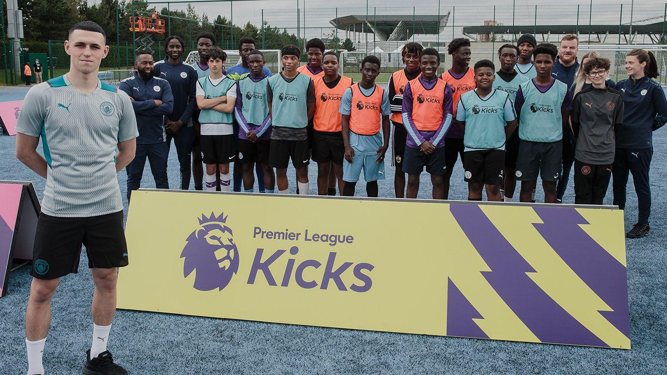 Phil Foden, Manchester City, Premier League Kicks